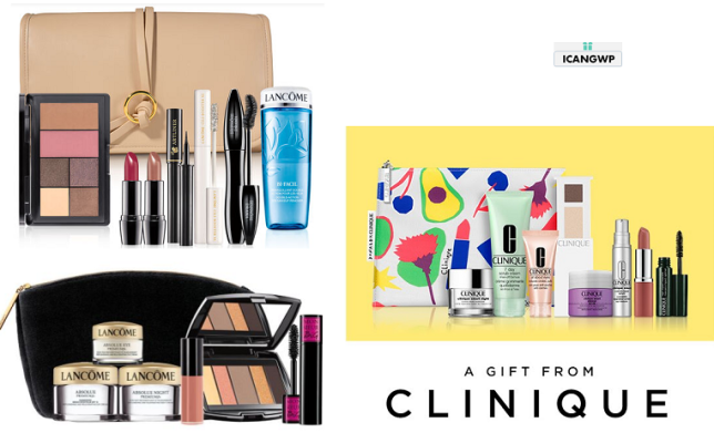 lancome gwp clinique bonus icangwp