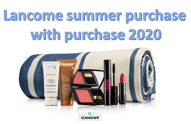 Lancome purchase with purchse summer Dillard s icangwp