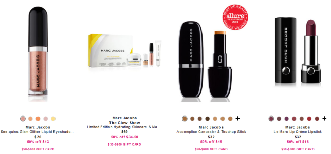 Marc Jacobs Beauty at Neiman Marcus