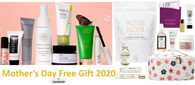 mothers day free gift 2020 beautyhabit credo icangwp