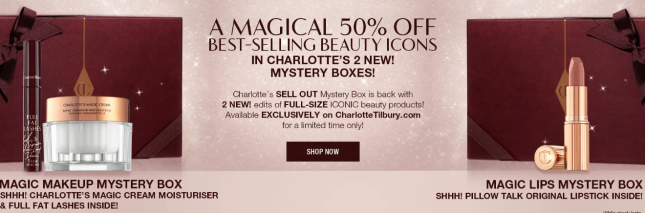 Up To 50 Off Beauty Savings On Skincare Makeup Charlotte Tilbury