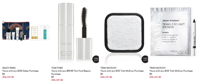 25 off Beauty Gifts with Purchase at Bergdorf Goodman 2