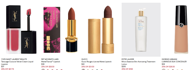 Beauty Products at Bergdorf Goodman icangwp