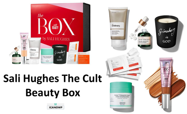 cult beauty box sali hughes icangwp