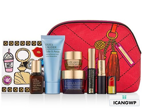 Estee Lauder 7 piece gift with purchase macys may 2020 icangwp