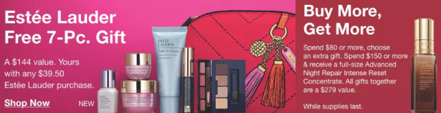Estee lauder gift with purchase 2020 Macys icangwp blog