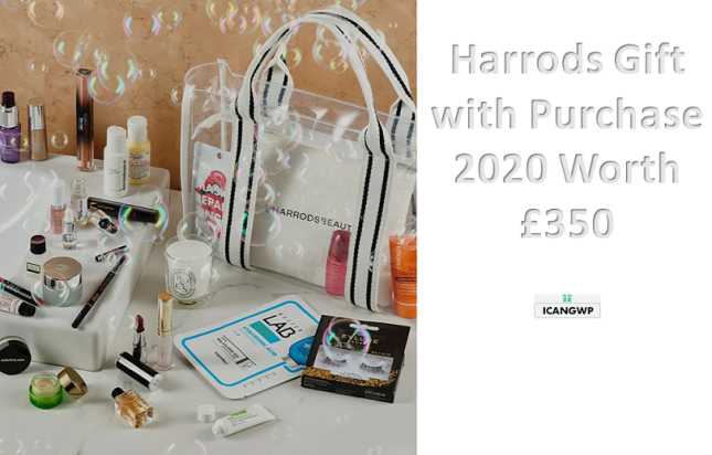 harrods gift with purchase 2020 icangwp blog uk