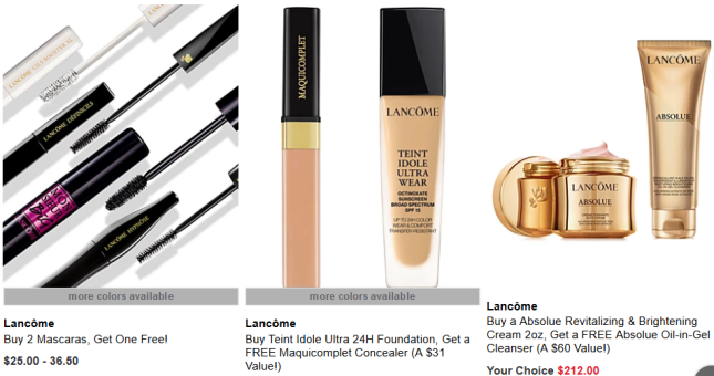 Lancôme Makeup Free Gift With Purchase Macy s