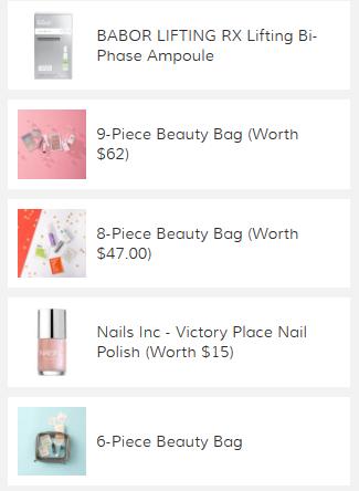 SkinCareRX beauty bag may 2020 icangwp
