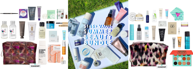 b glowing summer bundle ulta 18pc icangwp