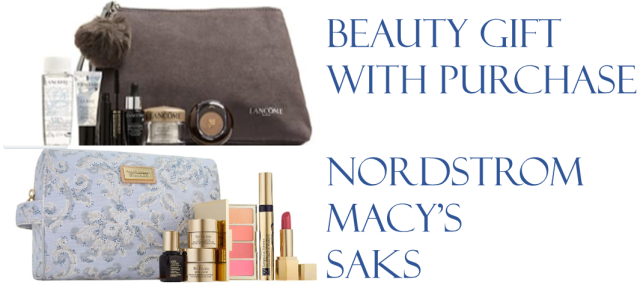 beauty gift with purchase nordstrom macys saks