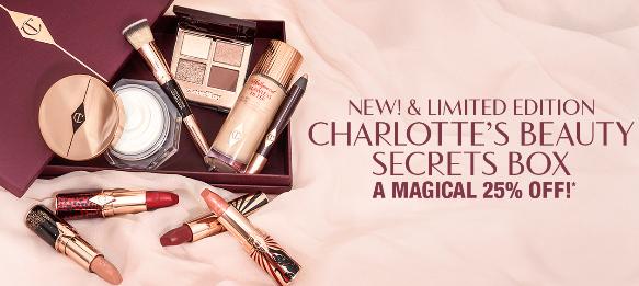 Charlotte Tilbury NEW LIMITED EDITION 25 Off Charlotte s Beauty Secrets Box icangwp