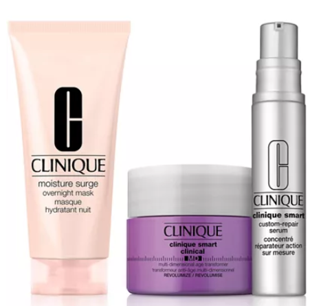 Clinique Get More Choose a Free Skincare Gift with any 55 Clinique purchase Up to a 133 Value Reviews Gifts with Purchase Beauty Macy s
