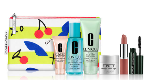 Clinique Spring 2020 7 Piece Gift with purchase Boscovs icangwp