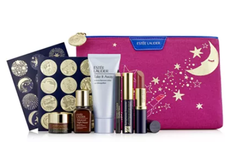 Estée Lauder Receive a FREE 7 pc Gift with any 39.50 Estée Lauder purchase. A 154 Value Reviews Gifts with Purchase Beauty Macy s