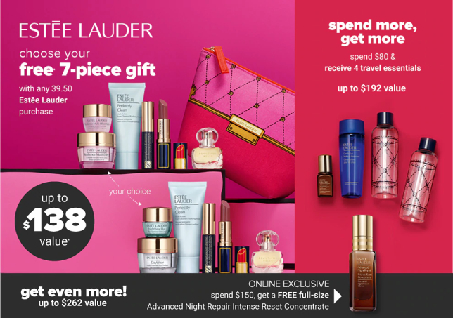 estee lauder Gift with Purchase belk icangwp
