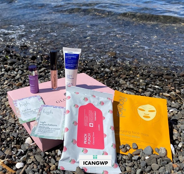 glossybox unboxing icangwp