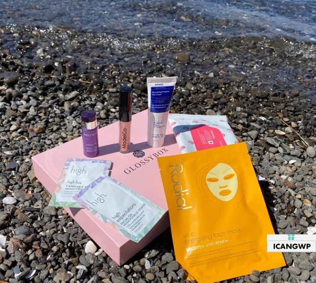 glossybox unboxing usa icangwp