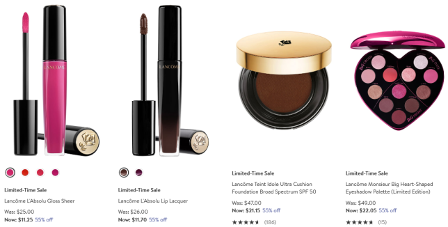 Lancôme Beauty Fragrance Sale Clearance Nordstrom
