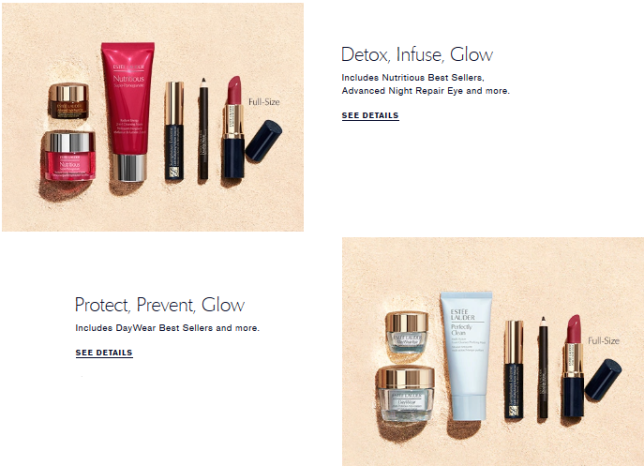 Summer 2020 Gift with Purchase Choice Page Estée Lauder Estée Lauder Official Site