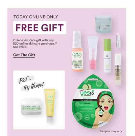 ullta skincare free gift icangwp