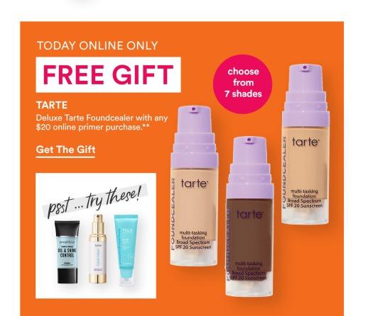 ullta tarte free gift icangwp