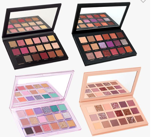 4 Piece Eyeshadow Palette Set Shop HUDA BEAUTY