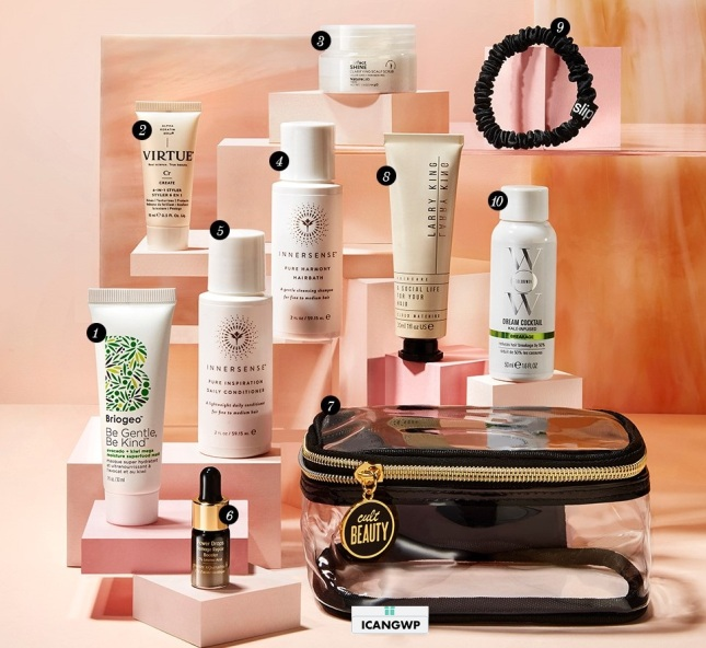 Cult beauty goody bag 2020 hair icangwp beauty blog