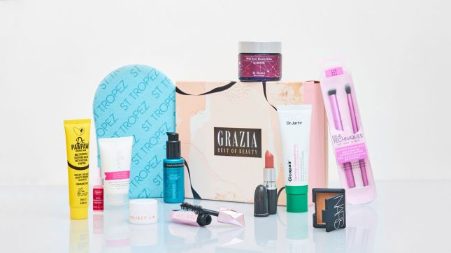 glossybox Grazia limited edition beauty box