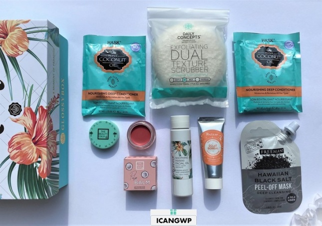 glossybox us review by IcanGWP