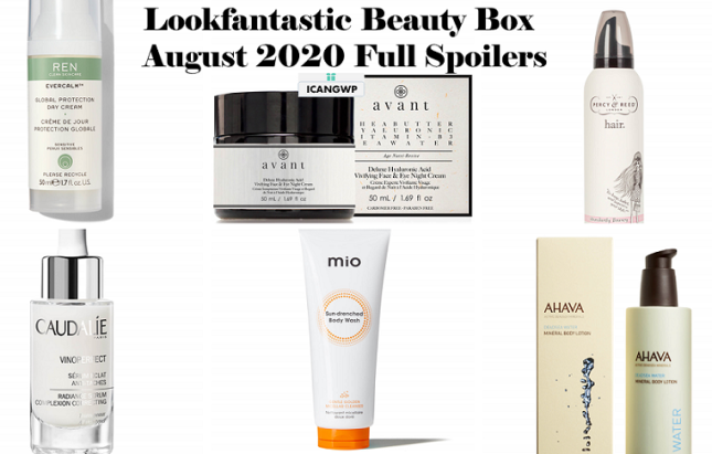 lookfantastic beauty box august 2020 full spoilers icangwp beauty blog