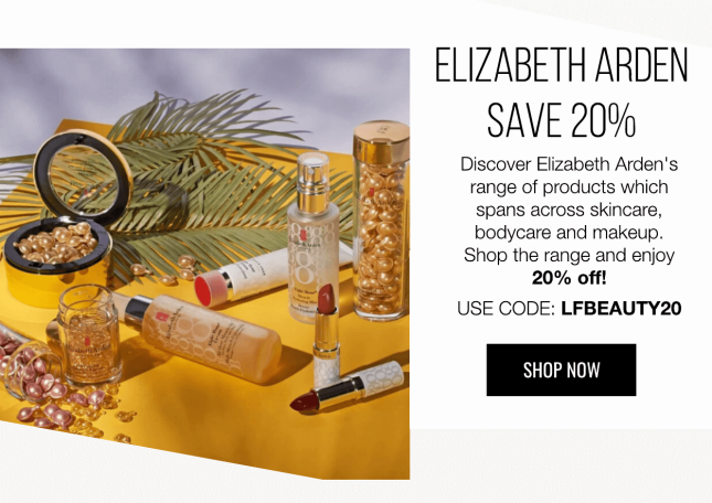 lookfantastic elizabeth arden