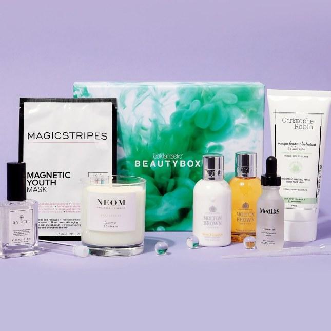 lookfantastic the science of beauty box