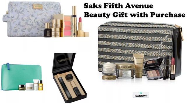 saks fifth avenue beauty gift with purchase icangwp