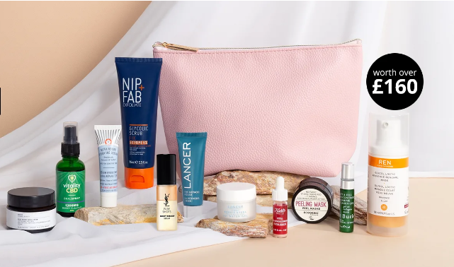 Skincare Beauty Bag Worth Over £160 Feelunique icangwp