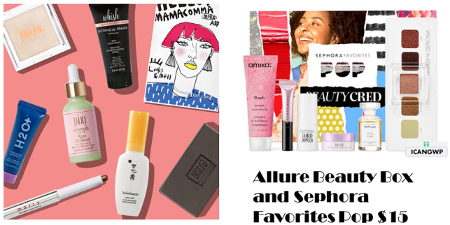 allure beauty box august 2020 icangwp blog