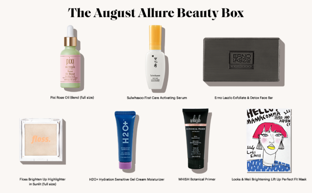 amazon allure beauty box august 2020 icangwp blog