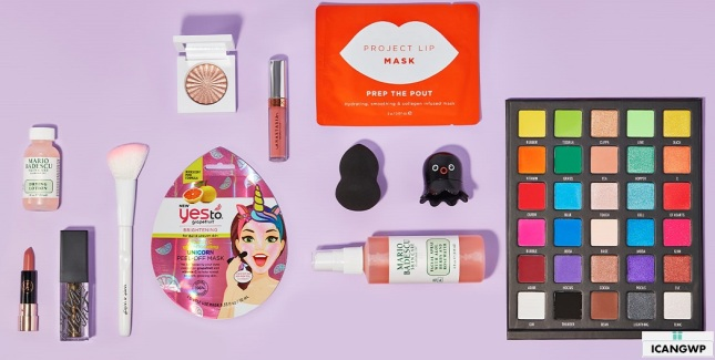 beauty bagy goody bag 2020 icangwp