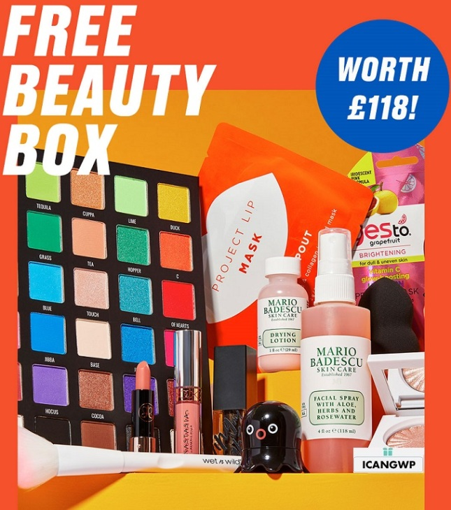 beauty bagy goody bag uk 2020 icangwp