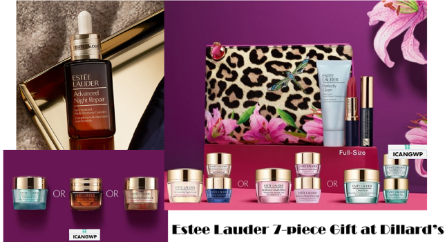 estee laude Gift with Purchase dillards icangwp august 2020