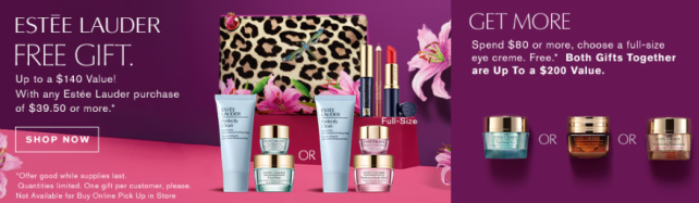 estee lauder gift with purchase Boscovs icangwp blog aug 2020