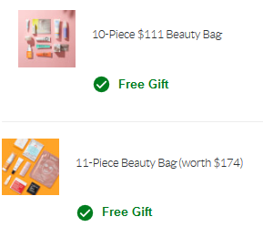 SkinStore beauty bag august 2020 icangwp
