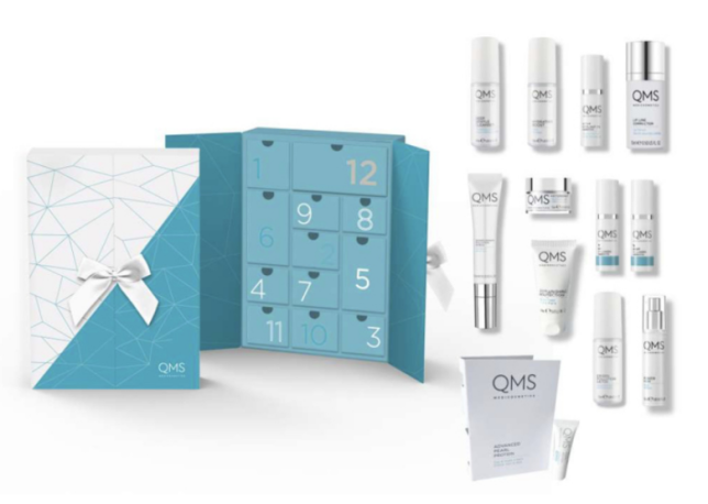 12 Days to Skin Perfection Adventskalender - QMS Medicosmetics icangwp