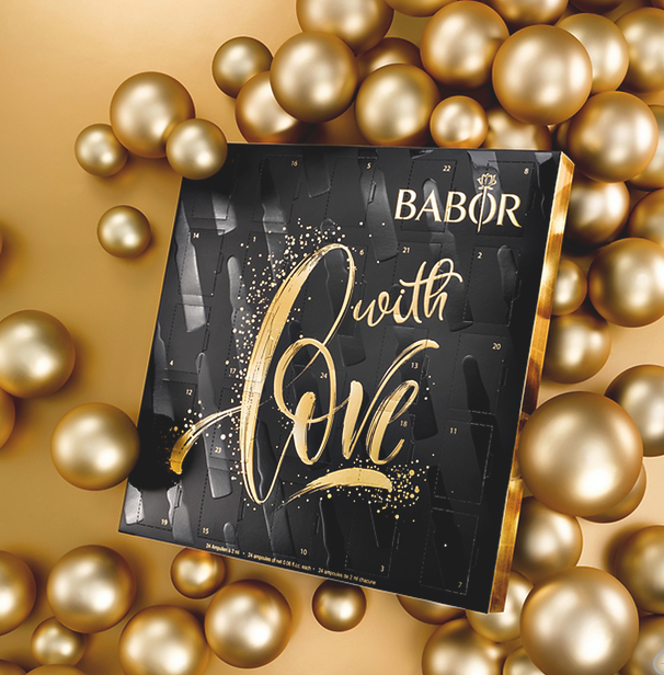 BABOR Christmas 2020 Ampoules Concentrate Advent Calendar babor advent calendar 2020 icangwp