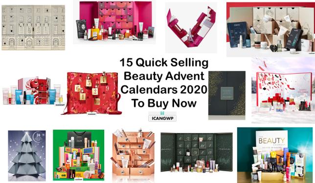 beauty advent calendar 2020 usa uk icangwp beauty blog