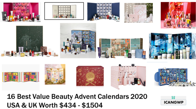 best value beauty advent calendar 2020 icangwp