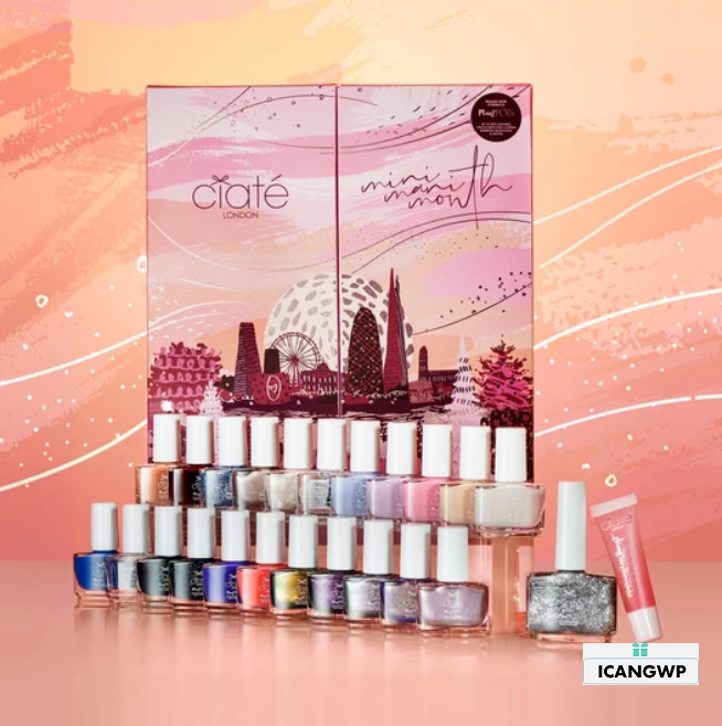 ciate advent calendar 2020 Mini Mani Month 2020 icangwp