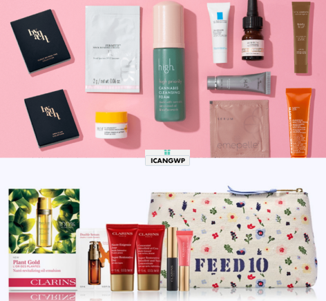 clarins Gift with Purchase Nordstrom skinstore beauty bag sept 2020 icangwp beauty blog