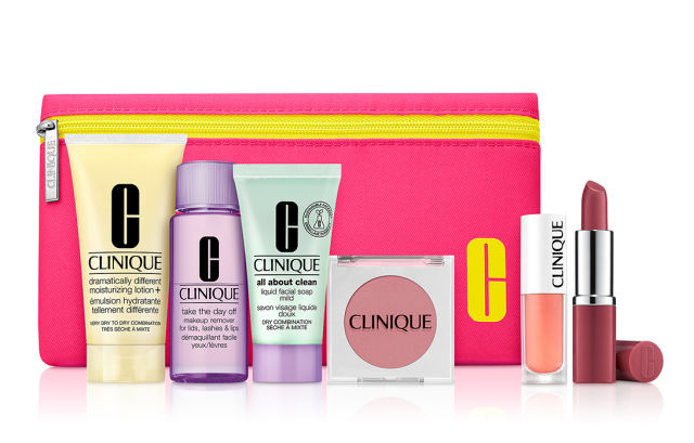 Clinique gift with purchase Fall 7-Piece Gift - GWP Boscov's icangwp