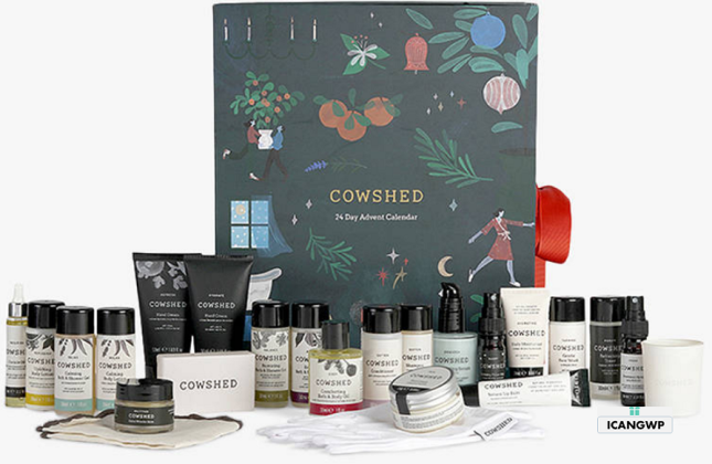 Cowshed 24 Day Advent Calendar 2020 icangwp blog